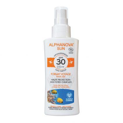 Alphanova Bio Spf 30 Spray 90g Travel
