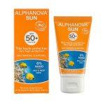Alphanova SUN BIO SPF 50+ gezichtscrème Zomer-Winter 50g