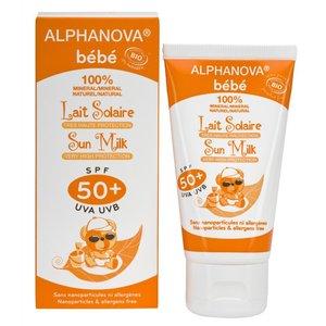 Alphanova SUN BIO SPF 50+ Baby Hypo allergeen Sun Milk 50gr