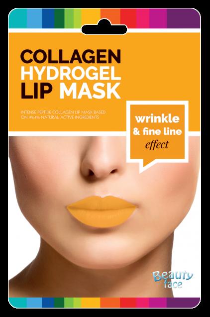 Beautyface Collageen Anti Rimpel Mond & Lip Vliesmasker