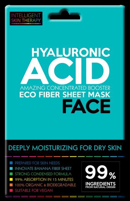 Beautyface Hyaluronic Acid Vliesmasker Intens Hydraterend